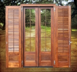 Windows and shutters, wood, CNC