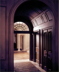 Archway, entrance, wood paneling, millwork, CNC