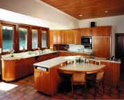 Kitchen, cabinetry, millwork, CNC