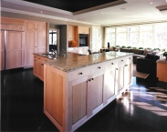 Kitchen, cabinetry, CNC, inlays, contemporary