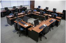 Computer lab desks, CNC