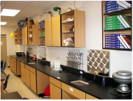 Science classroom, wood, school, CNC