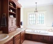 Bathroom cabinetry, CNC, wood