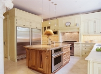 Kitchen, cabinets, CNC