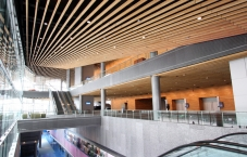 Olympic Center, Calgary, Alberta, woodwork, CNC