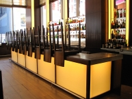 Bar, restaurant, fixtures, millwork, architectural woodwork, CNC