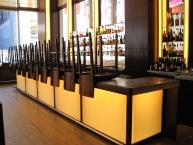 Bar, restaurant, fixtures, millwork, architectural woodwork, CNC