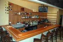 Bar, inlay, CNC, shelving